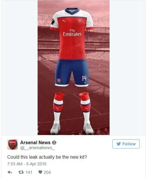 Arsenal 2016-17